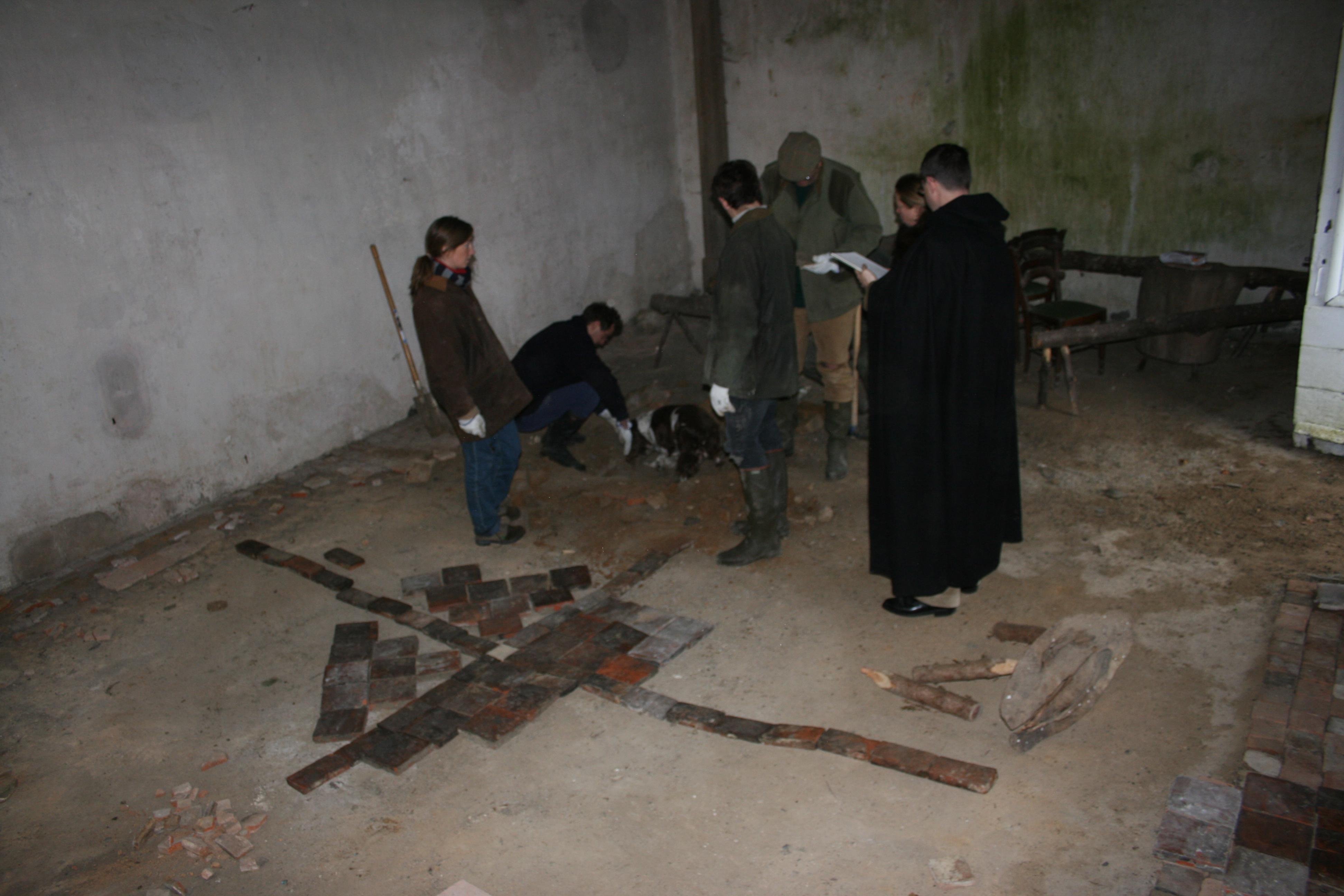 travaux sol chapelle