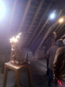 Sculpture sur bois - A.Legros