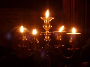 Château de Bourgon, ambiance aux bougies