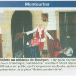 Courrier de la Mayenne F.Thyrion salue son public