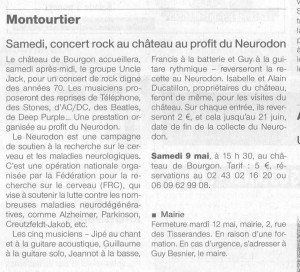 OF rock annonce